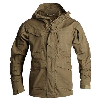 Neue Archon Taktische Graben Männer Mantel Designer Military Wasserdichte M65 Graben Mantel Männer Winddicht Outwear Plus Größe 3XL BFA010