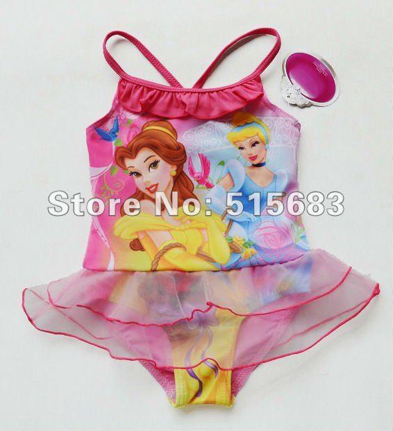 2017 Girls Fairy Princess Swimwear Tankini Beachwear Bikini Swimsuit Tutu Dress 2-8Y Bathing Costome New светильники trousselier абажур princess fairy 34х22 см