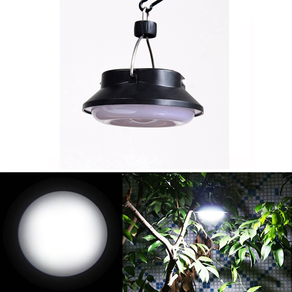 DC12V 10W Solar USB Rechargeable LED COB Camping Tent Light Portable Outdoor Emergency Lantern