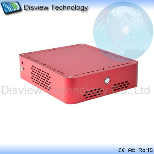 Ultra-small size Mini PC Computer_DI525R1-UDL: CPU Dual D510/525  1.8GHz/RAM 2GB/ HDD 250GB/Dual LAN