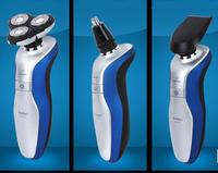 3D 3 In1 Men Washable Rotary Rechargeable Cordless Electric Beard Shaver Razor Hair Care Man Hair