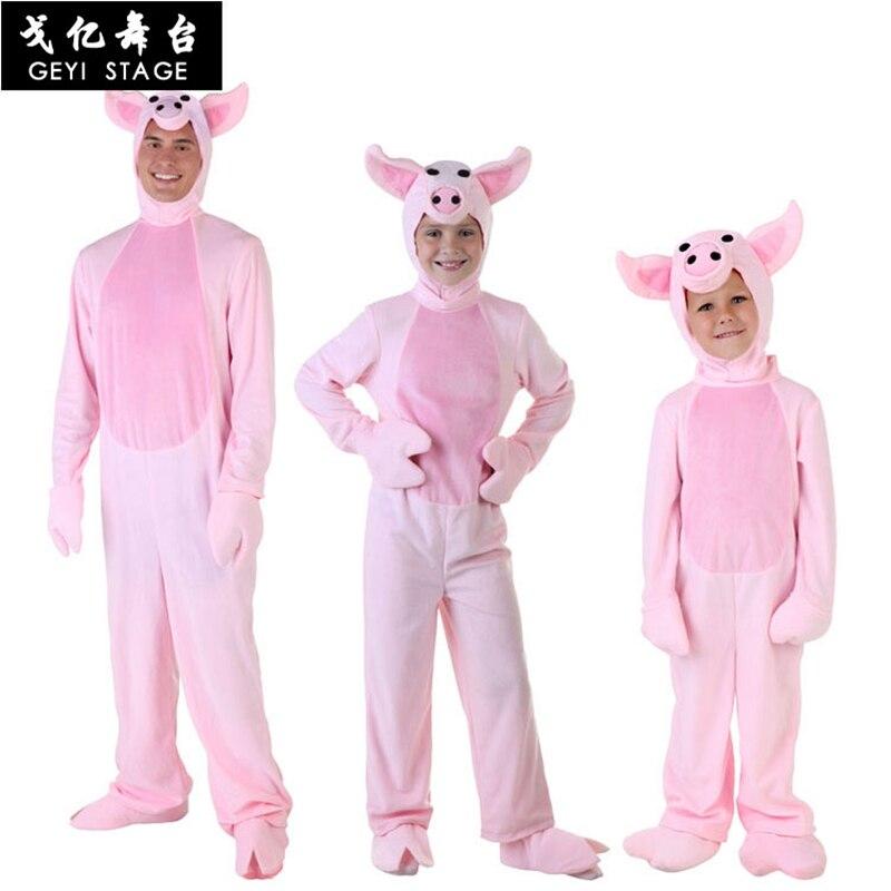 Cochon pyjama Onesie femmes adulte Kigurumi rose Animal Cosplay Costume flanelle chaud pyjama doux filles bande dessinée carnaval fête