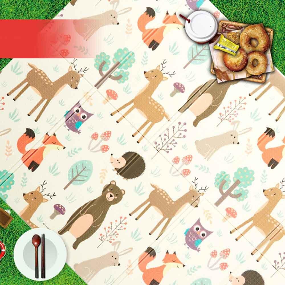 Tapis de jeu pour bébé Puzzle tapis de bébé mousse épaissi tapis de jeu salle ramper tapis pliant tapis de bébé tapis de sol antidérapant 150*200*1CM