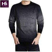 Cashmere-Pullover Männer 2016 Markenkleidung Herren Pullover Mode Druck hängen Pye Freizeithemd Wolle Pullover Männer Ziehen Oansatz Kleid T