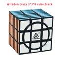 Witeden Louco 3*3*8 Cubo, preto Velocidade de Puzzle Magic Cube Brinquedos Educativos Para Crianças Puzzle Cube Louco 3x3x8 Cubo