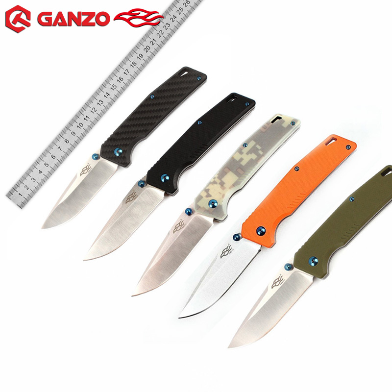 FB7601 Top Ganzo EDC Folding knife 440C Blade G10 Handle Hunting Camping Survival Tactical Utility Military knives Firebird ToolFB7601 Top Ganzo EDC Folding knife 440C Blade G10 Handle Hunting Camping Survival Tactical Utility Military knives Firebird Tool