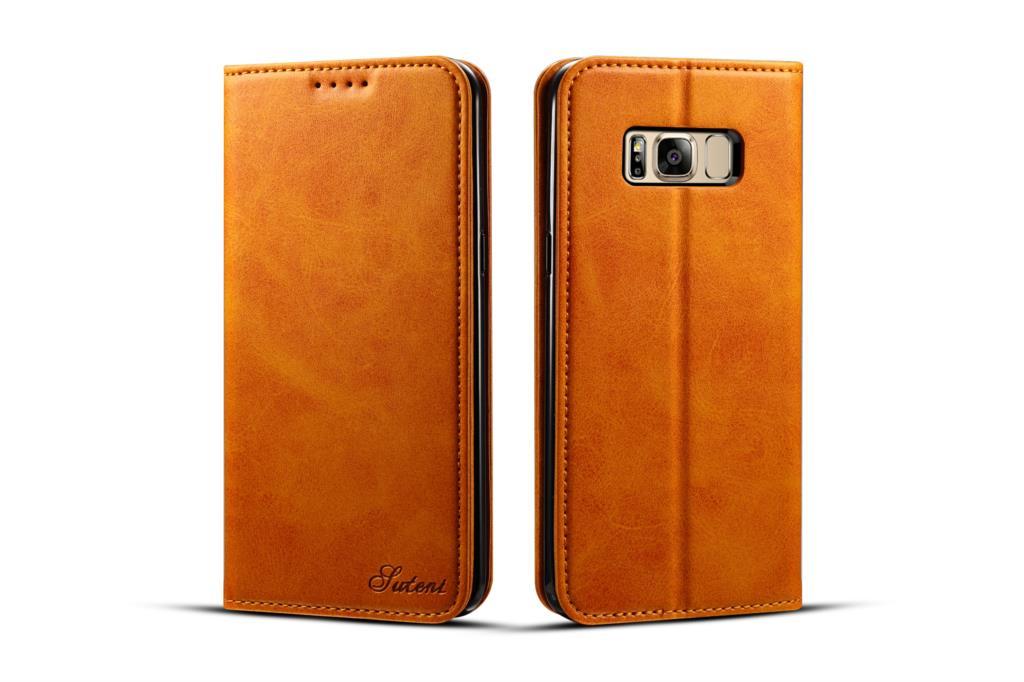 Pro Pouzdro Samsung Galaxy S8 TPU + Magnetické Flip PU Kožené Pouzdro pro Samsung Galaxy S8 Pouzdro Telefon Peněženka Pro Samsung S8 G950 Bag