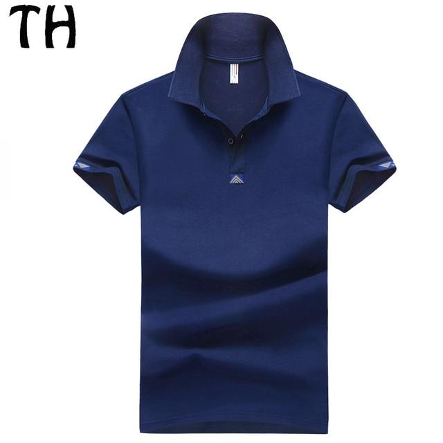 2016 Летний Стиль Slim Fit Polo Homme Camisa Отказаться Ошейник С Коротким Tee Shirt Мужчины Повседневная Polo Рубашка #161138