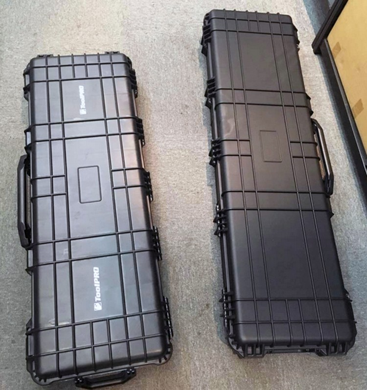 long case gun case large toolbox Impact resistant sealed waterproof case equipment 88 sniper rifle case with foam shipping free