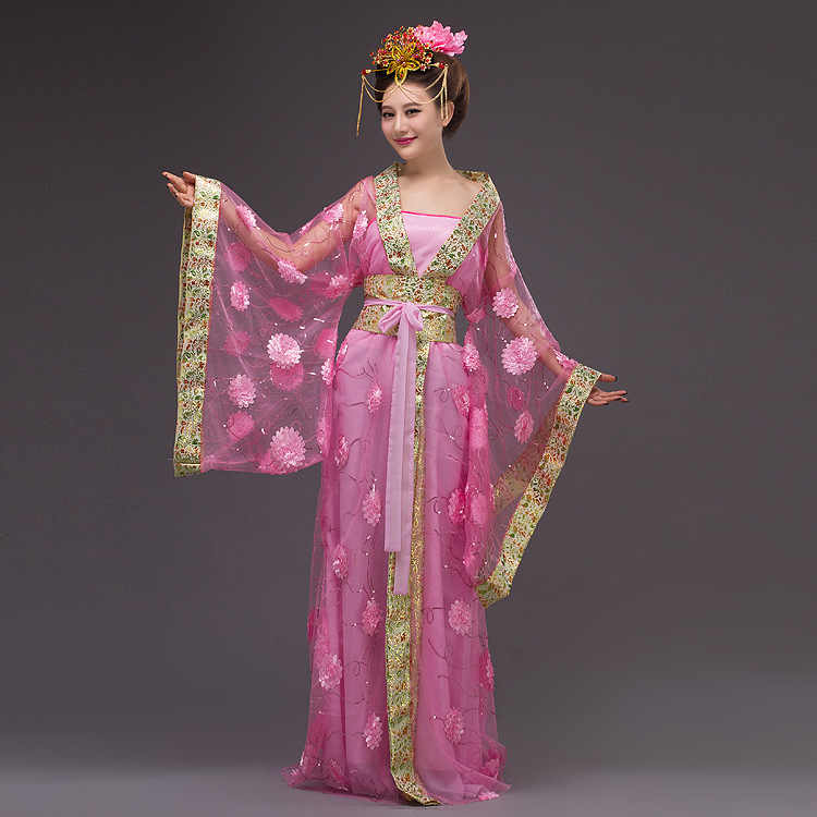 Chinese Princess Costume Women Queen Yarn Chinese Traditional ...
