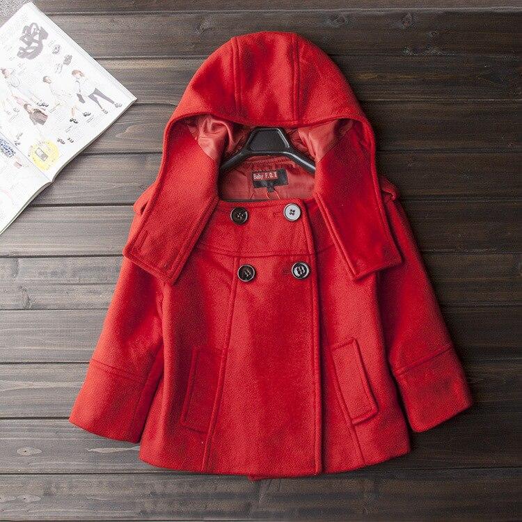 Chaquetas Mujeres Mujer Calidad Moda Tamaño Plus 2019 N18 Alta Rojas Lana Niña Abrigo Rojo De Elegante Corto Las Invierno 5wx6qZ