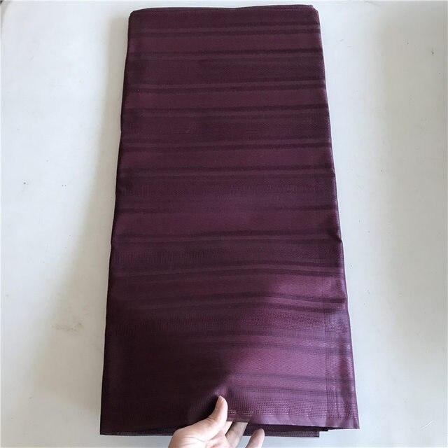 Atiku Materiale Per Gli Uomini di Abbigliamento Tessuto Stile Africano Bazin Atiku 5 yards per pezzo