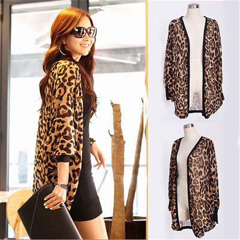 Leopard Kimono Cardigan - The Best Leopard 2017