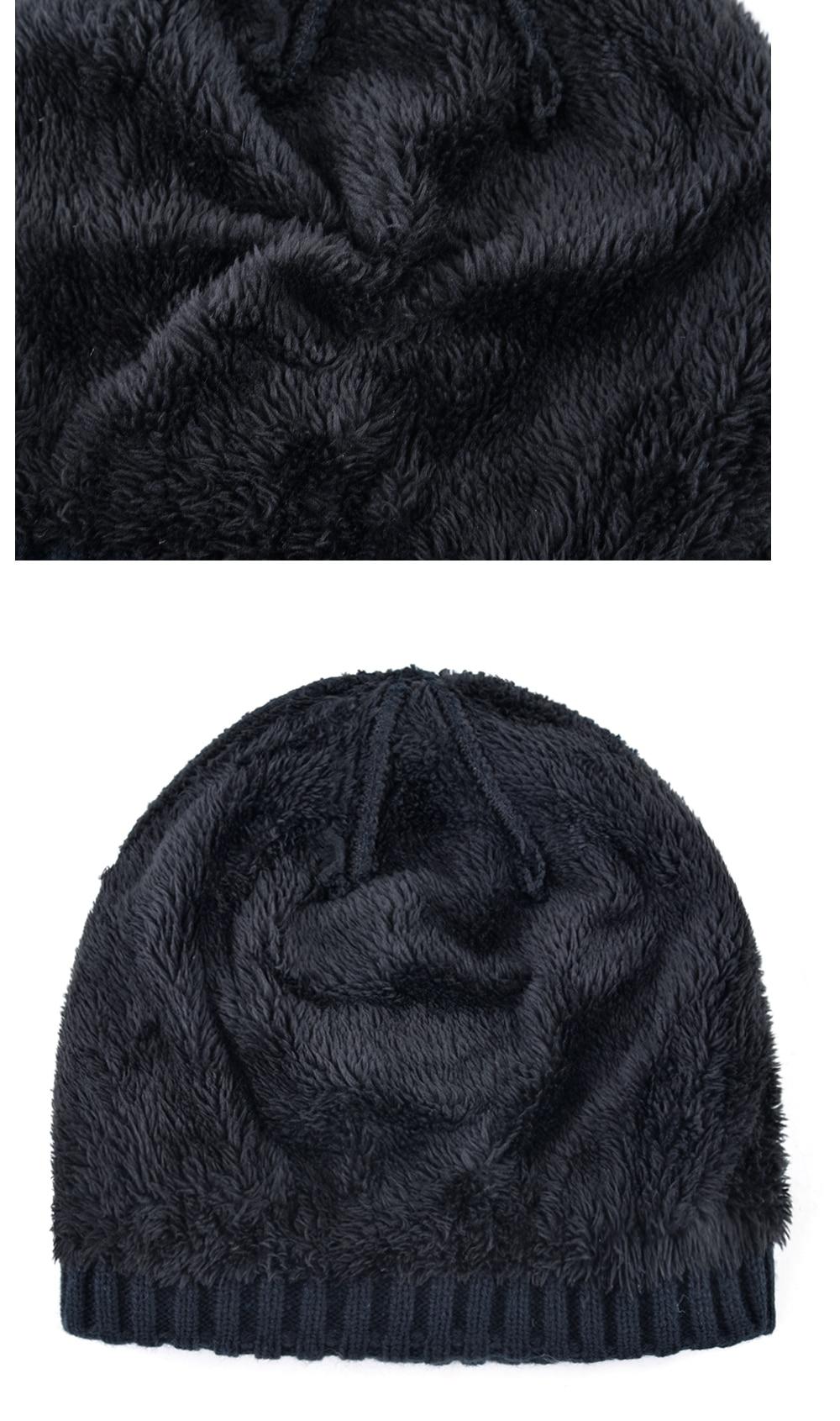 Super cool Skull patrón sombreros para hombres Punto de lana ...