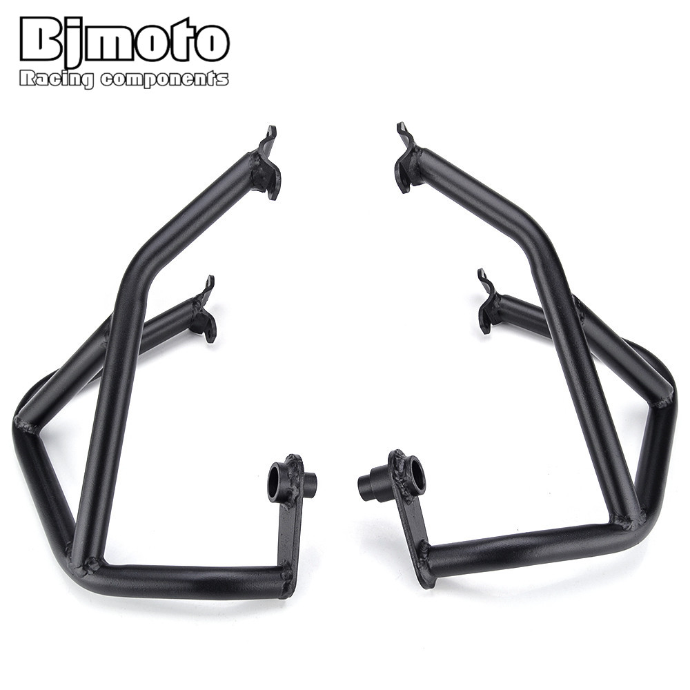 BJMOTO Motorcycle Crash Bars Frame Guard Protector Protection For KTM DUKE 690 2013 2014 2015 цена 2017
