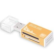 Многофункциональные микро считыватели карт памяти и адаптеры Компьютерная камера USB адаптер кард-ридер