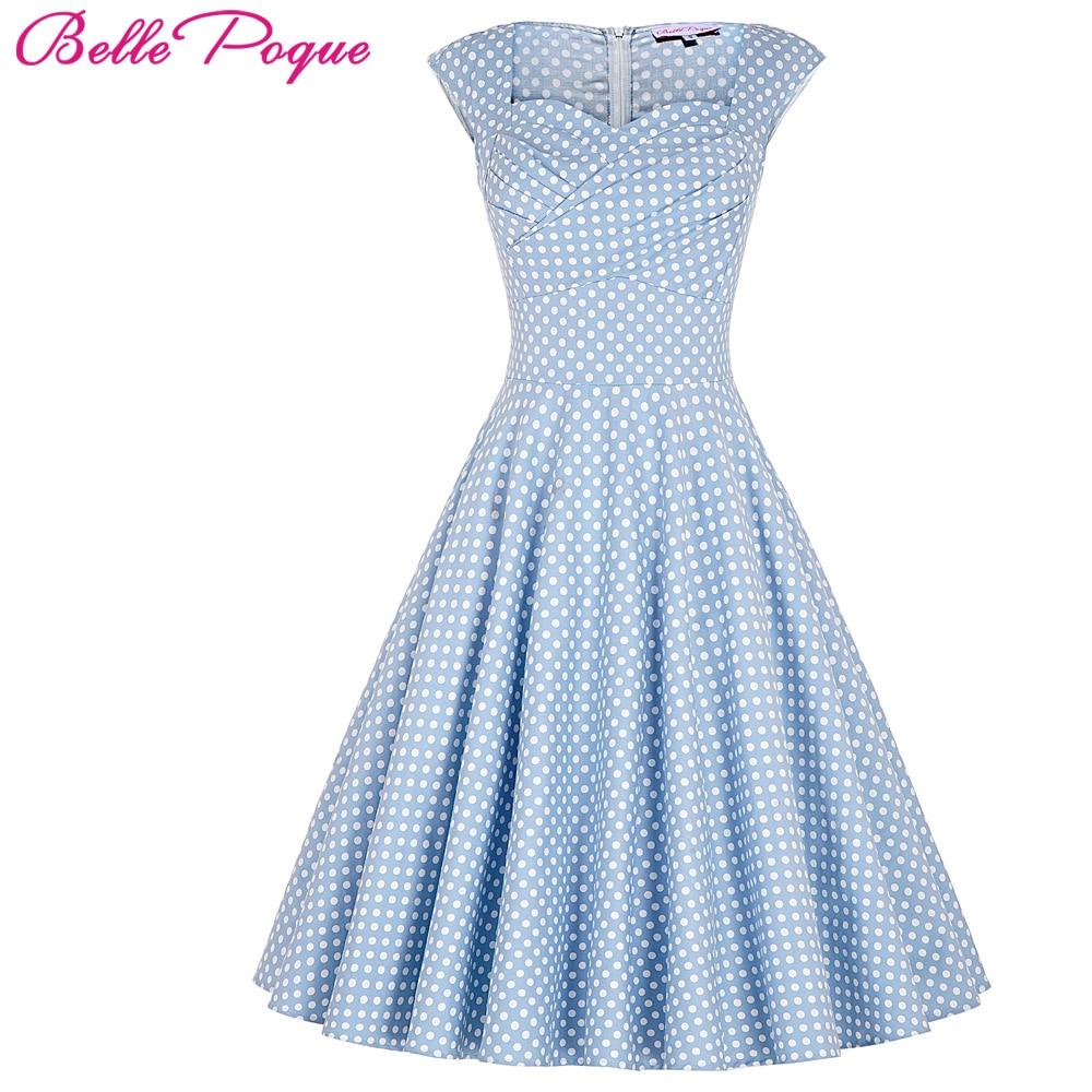 Belle Poque Summer Dress Women 2017 Elegant Tunic Casual Retro Rockabilly Floral Print robe femme ete Vintage 50s 60s Dresses