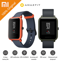 English Version Xiaomi Huami Amazfit Bip Pace Youth Smart Watch Mi Fit 1 28 Screen 32g