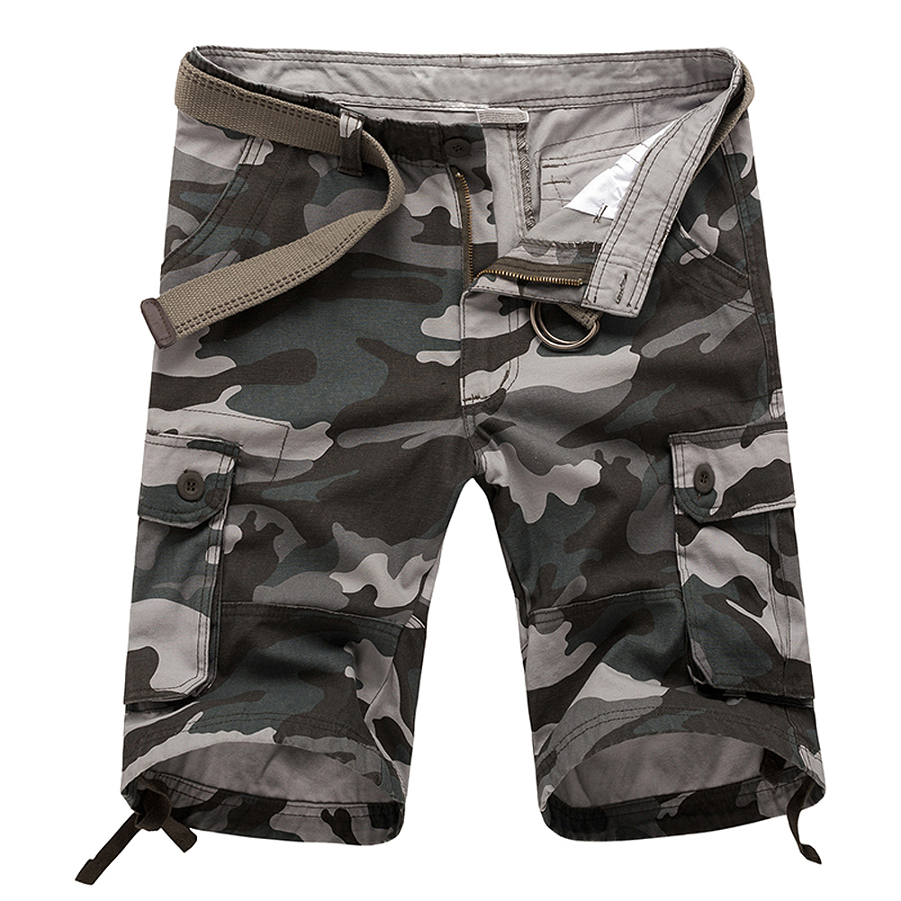 New Men board shorts camo Shorts casual beach shorts blue green khaki camouflage