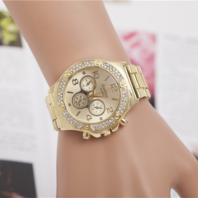 Luxury Brand Silver Gold Watches Women Rhinestone Dress Watches For Women Stainless Steel Quartz Wristwatches reloj mujer AC023 пальто grand style grand style gr025ewvis90