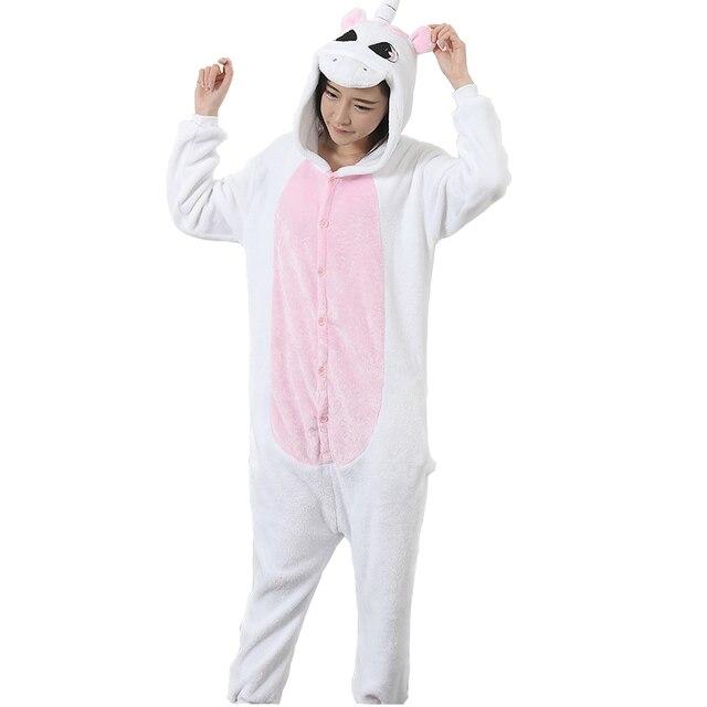12569d40759b Aliexpress.com   Buy Pegasus Unicorn Pajamas Flannel Hooded Long ...