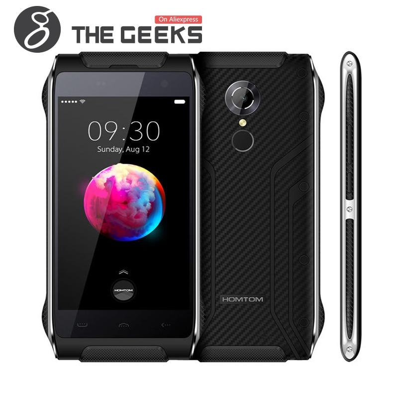 Цена за Оригинал HOMTOM HT20 PRO MTK6753 3 ГБ RAM 32 ГБ ROM 1.3 ГГц Octa Core 4.7 Дюймов HD Экран Android 6.0 Водонепроницаемый 4 Г LTE Смартфон