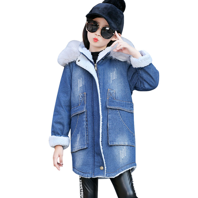 Thick Winter children jackets Girls Boys Coats Hooded Faux Fur Collar Kids Outerwear Cotton Padded Baby Girl Boy Snowsuit korean baby girls parkas 2017 winter children clothing thick outerwear casual coats kids clothes thicken cotton padded warm coat