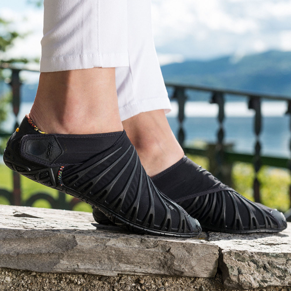 2019 Vibram Five Fingers Super Light Running Shoes Bat Shoes Wrapped in cloth Shoes For Men Women Outdoor Sport Shoes - 2