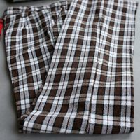 [wamami] 300# Casual Brown Checked Pants/Trousers/Outfit For 1/4 MSD AOD DZ BJD Dollfie