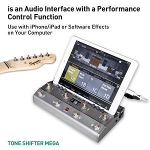 Image 3 - TS Mega 2 In 1 Midi Fuß Controller Mit Audio Interface Gitarre Pedal USB Aufnahme Für iPhone iPad Android Geräte mac PC