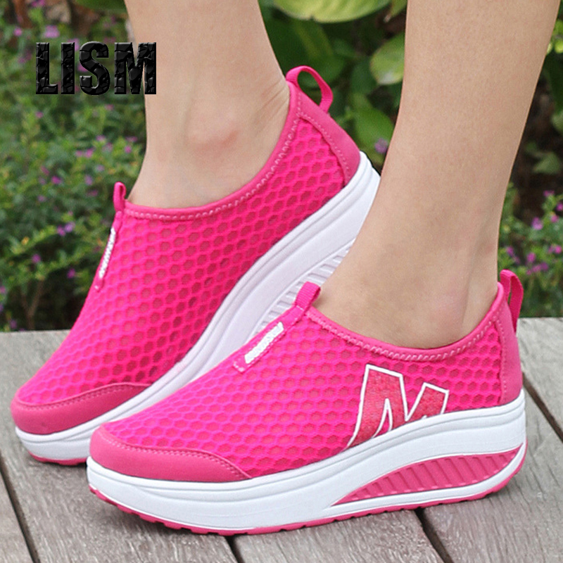 2018 women casual shoes height increasing summer shoes woman breathable swing fashion casual shoes for women height increasing summer shoes women casual fashion height increasing women platform shoes breathable air mesh swing wedges shoe women krasovki