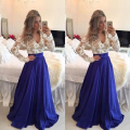 2016 Sexy Party Dresses Fashion Patchwork Women Dress Long Dress Elegance Lady Vestidos Plus Size Long Sleeve Vestido De Festa