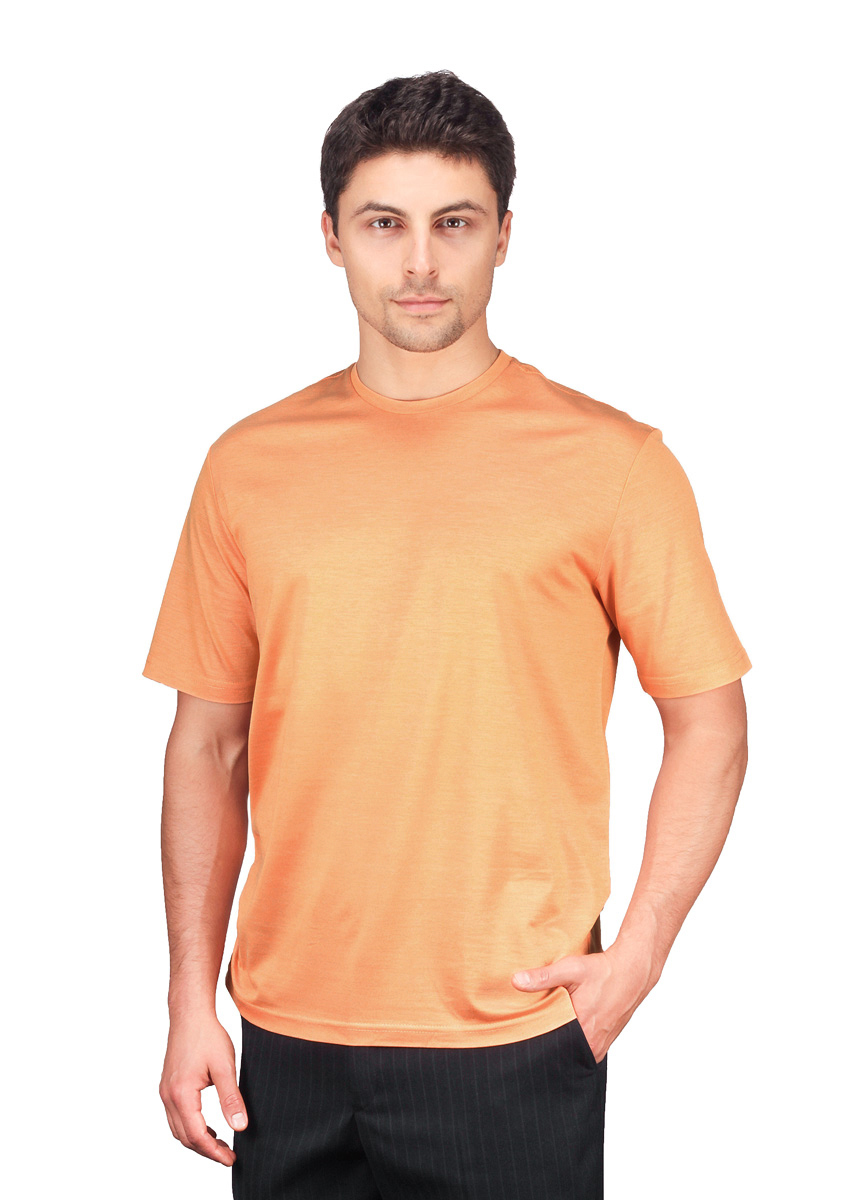 T Shirt men's short sleeve GREG FS 0307/1 Colorado/5 (orange) Orange 3d letters and banknote printed round neck short sleeve men s t shirt