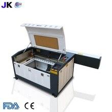 送料無料 CNC レーザー切断機/レーザー彫刻/CO2 レーザーカッター 4060/6040 木材合板彫刻機ホット販売