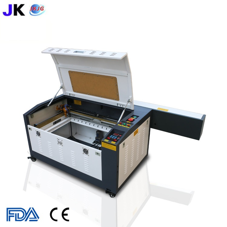 Free shipping CNC laser cutting machine/laser engraver/CO2 laser cutter 4060/6040 for wood plywood engraving machine hot saleWood Routers   -