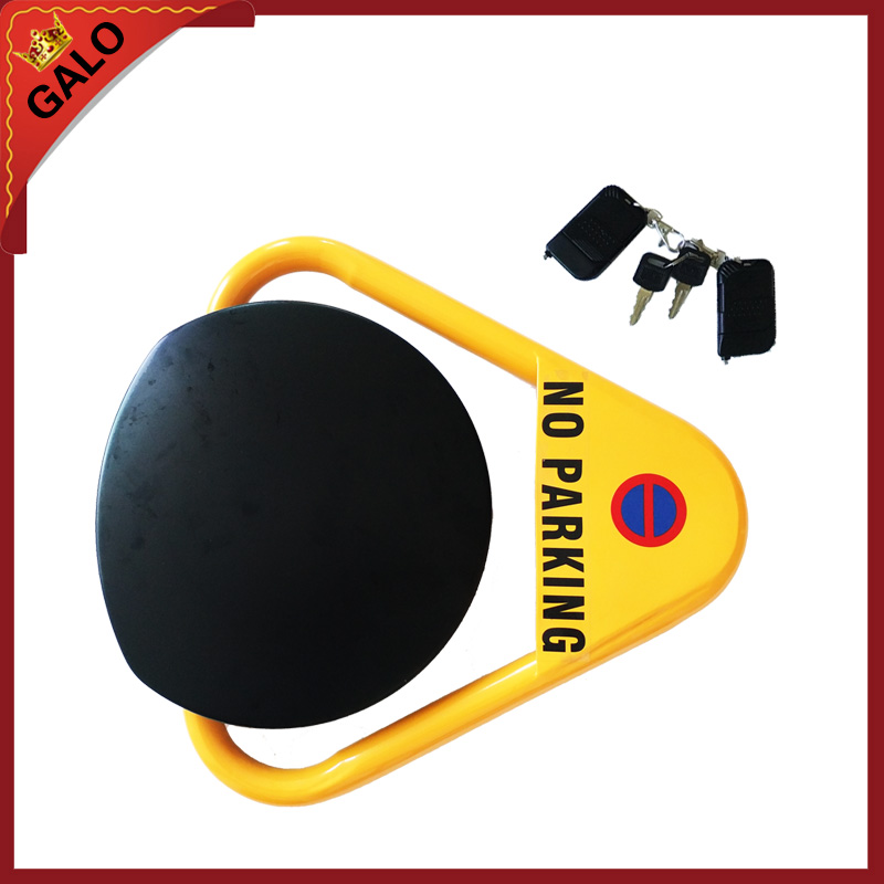 Outdoor used automatic remote controlled parking lock/parking barrier/ parking space lock reserved automatic remote controlled parking lock