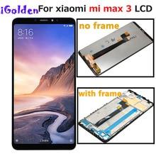 Pantalla LCD para XIAOMI Mi Max 3, montaje de digitalizador con pantalla táctil de repuesto, con marco