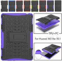 Case For Huawei MediaPad M3 Lite 10 10.1 BAH-W09 BAH-AL00 BAH-L09 Cover Heavy Duty 2 in 1 Hybrid Rugged Durable Funda Shell