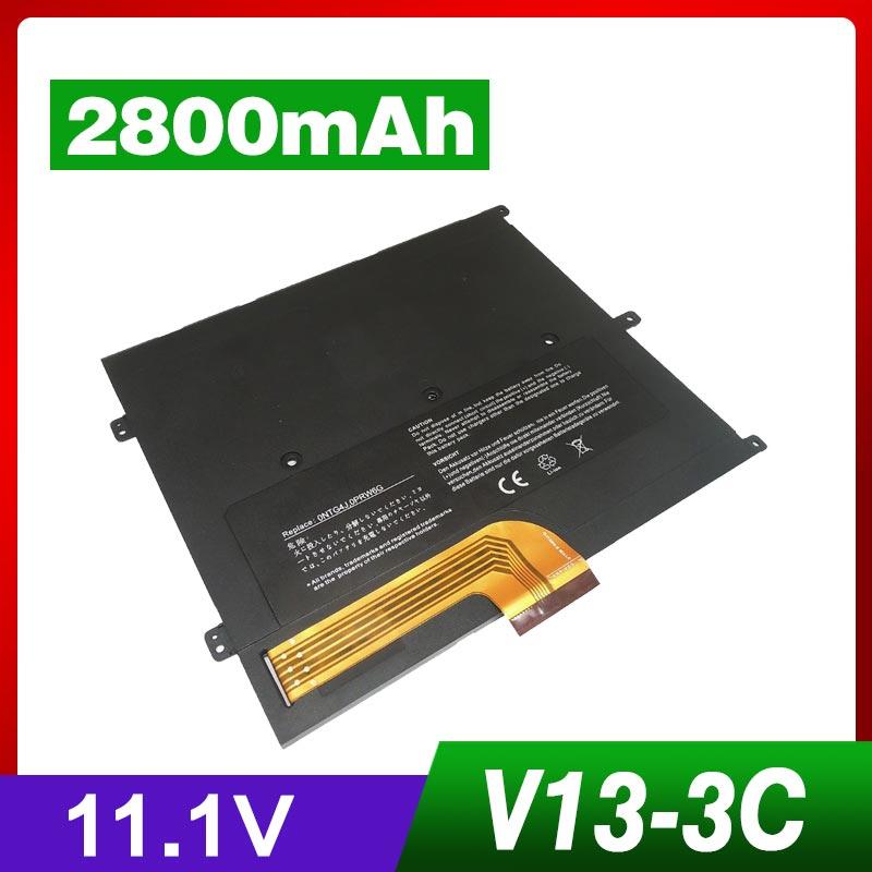 11.1 v 2800 mah Nouvelle Batterie D'ordinateur Portable Pour Dell Vostro V13 V130 V1300 V13Z, fit partie nombre: 0449TX 0NTG4J 0PRW6G PRW6G T1G6P