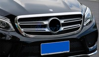 Accessories For Mercedes Benz GLE 2015 2016 2017 Coupe SUV W166 Front Grille Bumper Trim Overlay Panel Frame Chrome Car Styling