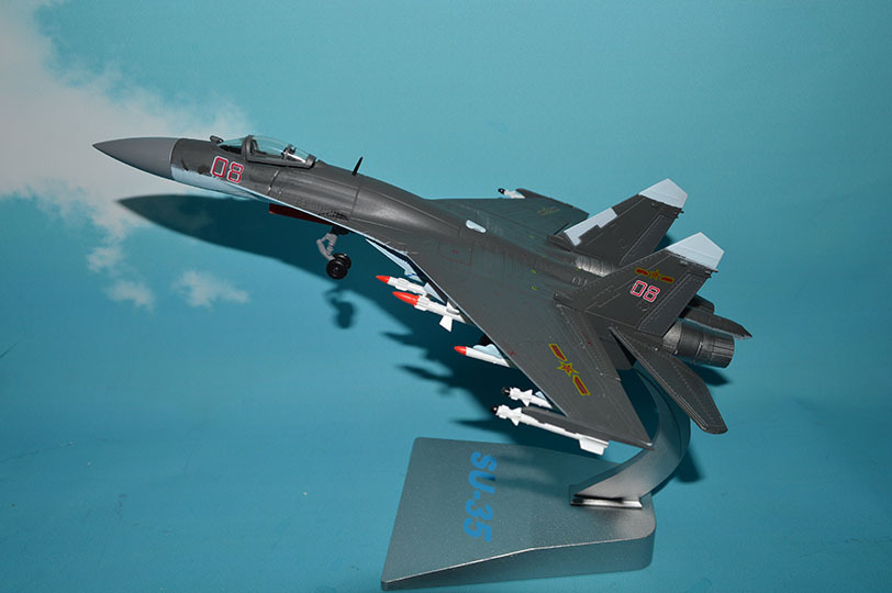 1:72 su35 Aircraft Model Ji'nan HangYu Model Alloy Decoration Model Toy the united states 1 72 sr 71 blackbird reconnaissance aircraft model aircraft model alloy