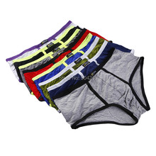 8PCS/Lot New Fashion Men Clothing Underwears Boxers Shorts Casual Underpants Mens Modal Boxer 8 Colors Free Shipping