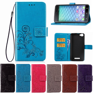 Flip Wallet Leather Case For B