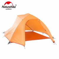 Naturehike CloudUp Series 20D Silicone Ultralight Tent For 3 Person NH15T003 T