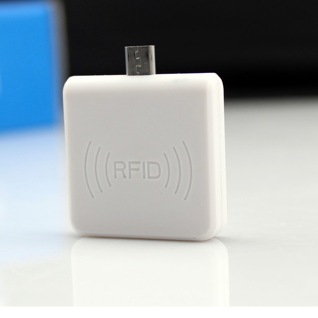 US $13 29 5% OFF|New OTG 125Khz EM4100 Mini USB RFID Reader for For Android  Mobile Phone mobile RFID card reader-in Control Card Readers from Security