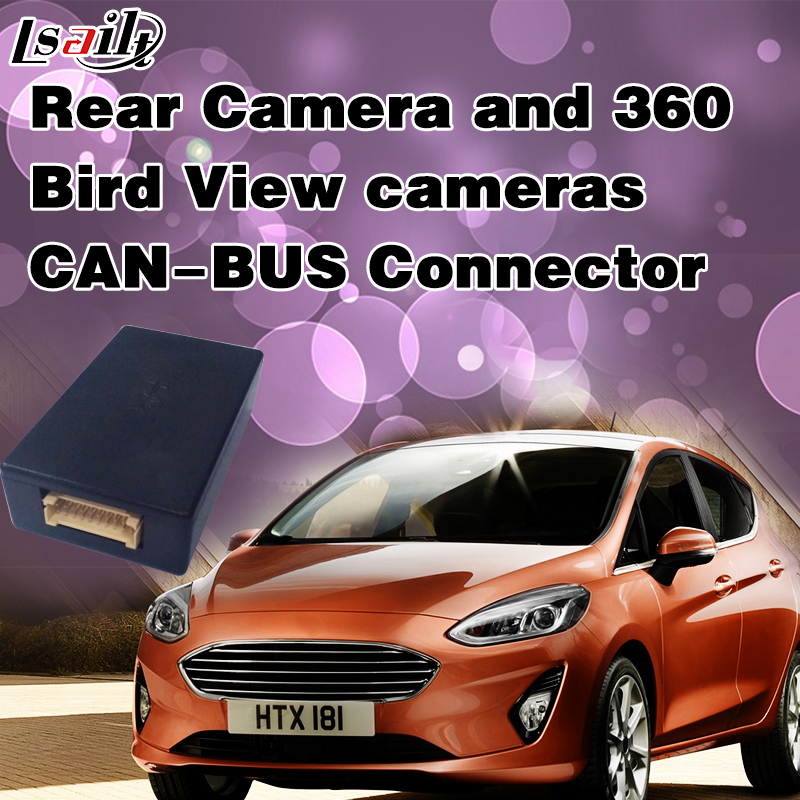 CAN BUS Connector for Rear View Camera and 360 Bird View Cameras with Parking Guide Line for with Ford SNYC2 SNYC3