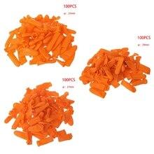 100 قطعة واقية المضادة للانزلاق أصابع قفازات الاستاتيكيه اللاتكس المطاط غطاء للأصابع