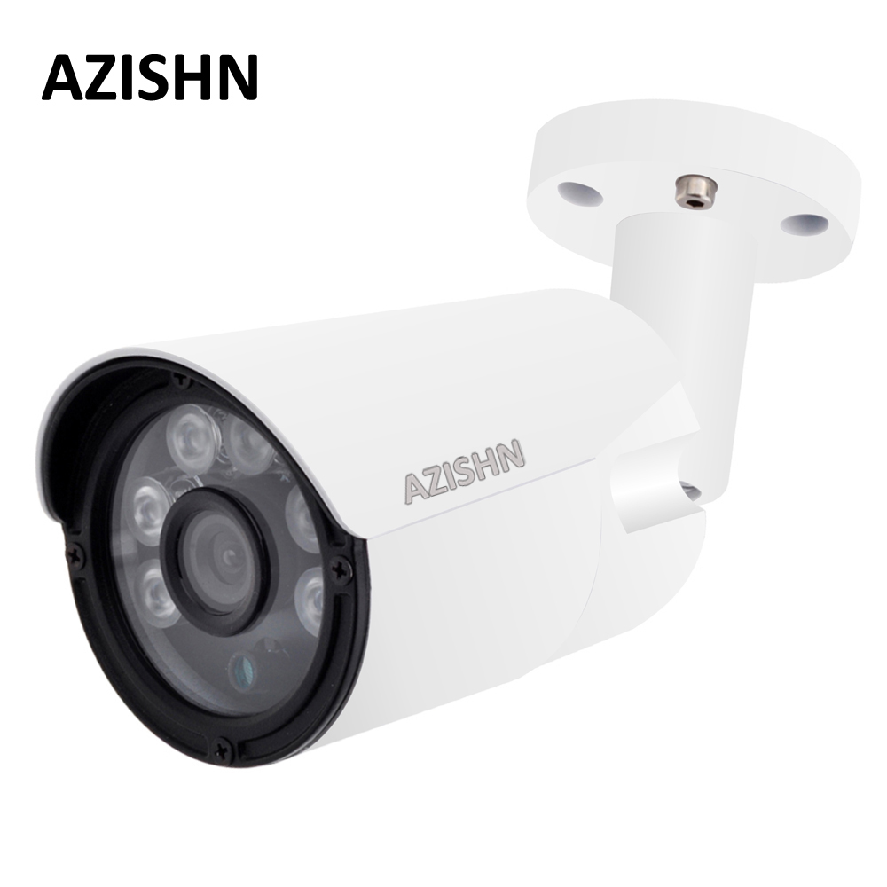 H.264/H.265 Surveillance CCTV Caméra 2MP 4MP 25FPS ONVIF Détection de Mouvement IP66 En Métal En Plein Air Sécurité IP Caméra DC12V/48 V PoE