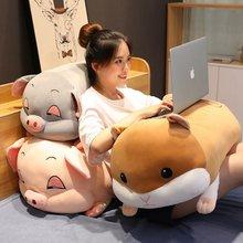 Coussin en peluche cochon souris, doux, Animal mignon, poupée, cadeau d'anniversaire pour enfant, 40-70cm