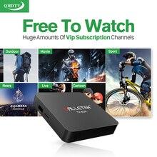 Android 6.0 Smart IPTV Boîte Amlogic S905X Quad Core 1G 8G 4 K H.265 withEurope Arabe Français AU ROYAUME-UNI IPTV Canaux Abonnement